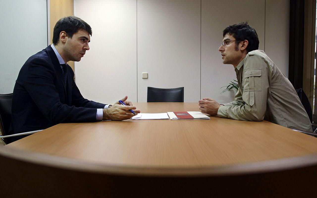 مقابلة مع رئيس حزب
